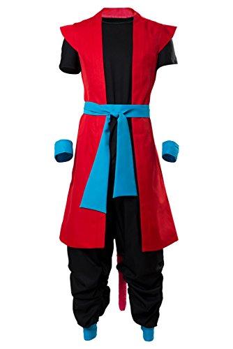 Zeno Outfit Super Dragon Ball Heroes: Universe Mission Cosplay Kostüm Herren XL ()
