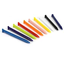 subtel 10x Touchstifte kompatibel mit New Nintendo 3DS XL - 10er Set Stylus