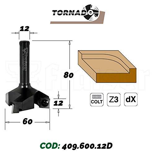 Hobelfräser mit Wendeplatten für oberfräse 12mm schaft CNC & Handbuch | TORNADO | by Fraiser