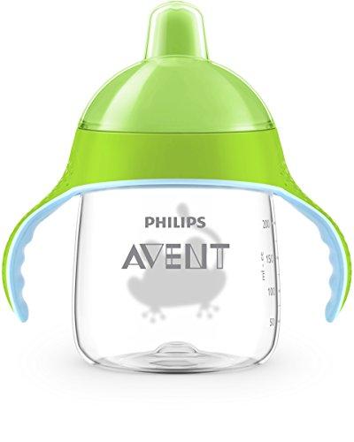 Philips Avent Trinklernbecher, beißfester Trinkschnabel, SCF753/09, ab 12.Monat, grün, 260ml - 3