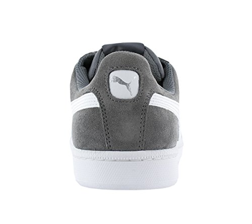 Puma Smash SD, Sneakers Basses Mixte Adulte Gris (Steel Gray-puma White 14)