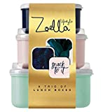 Zoella Lifestyle A Trio of Lunch Boxes
