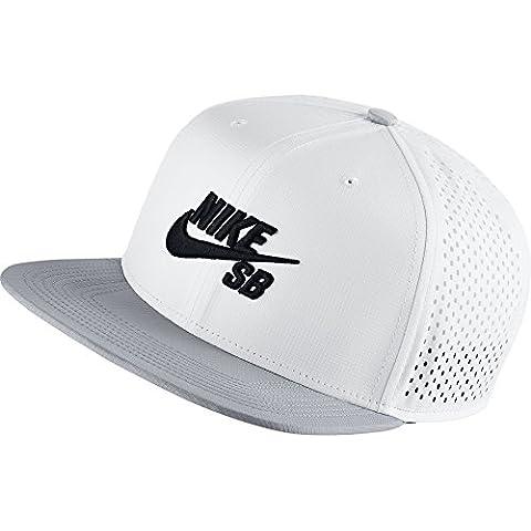 Nike U Nk Cap Trucker - Gorra para hombre, color blanco, talla única