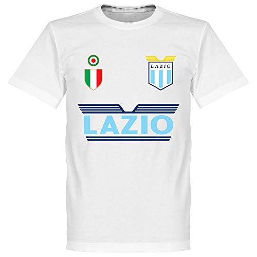 Retake Lazio Team - Camiseta, Color Blanco Blanco 3XL
