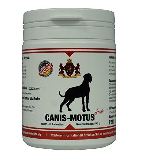 Feddema Canis Motus forte - Ergänzungungsfutter mit Glucosamin, MSM, Teufelskralle und Omega-3 Fettsäuren