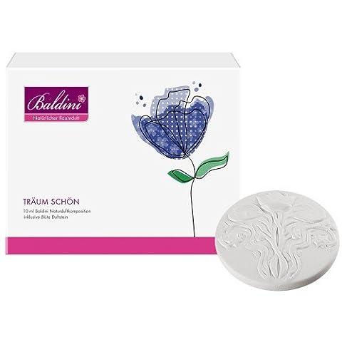 Baldini Träum schön Set mit 10 ml Raumduft und Duftstein Blüte, 1er Pack (1 x 155 g)