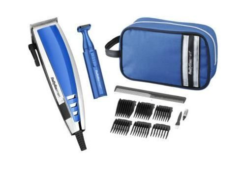 babyliss mens deluxe - 41lHS4aC4eL - HIGH QUALITY BABYLISS MENS DELUXE HAIR TRIMMER CLIPPER GIFT SET INCLUDES WASH BAG