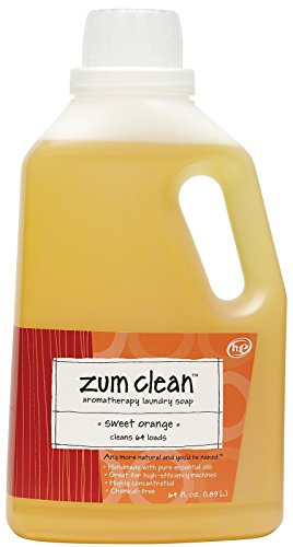 Indigo Wild, Zum Clean, Aromatherapy Laundry Soap, Sweet Orange, 64 fl oz (1.89 L)