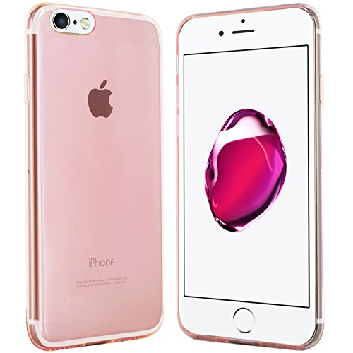 iPhone 7 / iPhone 8 Hülle in Schwarz - moodie Silikonhülle Case Cover Schutzhülle für Apple iPhone 7 und iPhone 8 Rose
