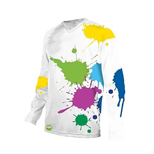 Uglyfrog 2019 Lange Ärmel Jersey MTB Rennrad Frühlingsart Motocross Mountain Bike Downhill Jersey Shirt Radsport Bekleidung Herren Trikots & Shirts Sportbekleidung Kleidung