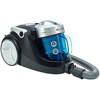 Hoover 39001359 SP71BL05 Blaze Bagless Cylinder Vacuum Cleaner, 700W, Blue/Black