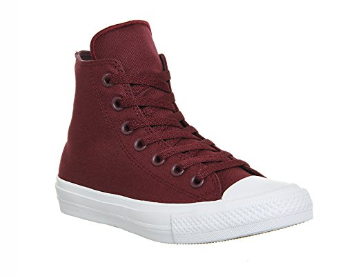 Converse Ct Ii Hi, Sneakers Homme Rouge (Deep Bordeaux/white/navy)