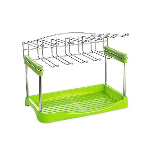 Multifonctionnel Coupe Rack Cuisine Plate Dish Cup Couverts Drainer Storage Rack Egouttoir Plateau Assiettes Porte Verre Rack