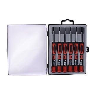 Lindy Set de Destornilladores Torx de, a Prueba de manipulaciones para técnico Profesional de Ordenadores, Rojo – Producto