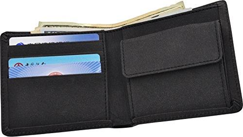 clinowu Portemonnaie im Querformat, unisex | Premium-Geldbeutel aus Kraftpapier, ohne Leder, vegan | RFID-Blocker eingebaut - 3
