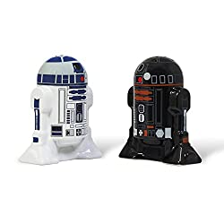 Elbenwald Star Wars - R2-D2 & R2-Q5 Salz & Pfefferstreuer Ministreuer-Set-2-teilig aus Keramik