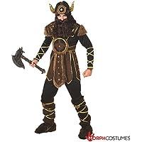 Valeroso histórico guerrero vikingo Disfraz Carnevale