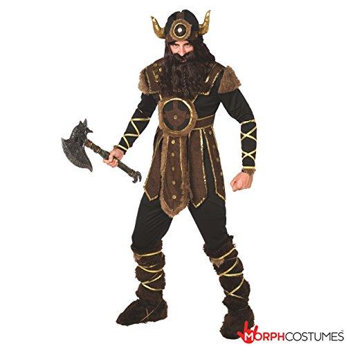 r Mutiger Krieger Kostüm Karneval (Wikinger Kostüm)