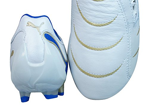 Puma PowerCat 2.10 FG Garçons Bottes de football white