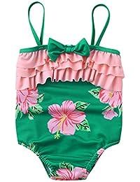 Poachers Ropa baño Niñas bebé Verano 12meses-6años una Pieza tación Playa Conjuntos Bikinis Cómodo
