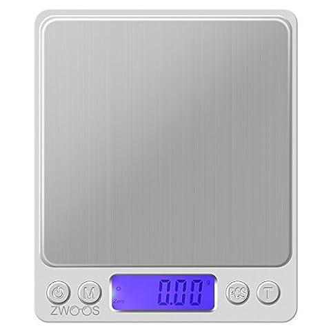 Balance de Poche de Precision – ZWOOS 500g * 0.01g