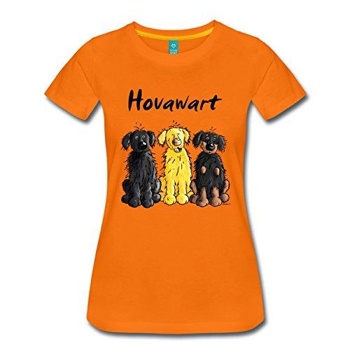 hovawart-frauen-premium-t-shirt-von-spreadshirt-3xl-orange
