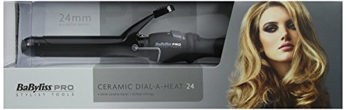 Babyliss-Pro-Ceramic-Dial-A-Heat-Hair-Tongs-with-25-Heat-Settings-Curler-Wand-BLACK