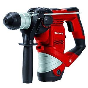 Einhell Bohrhammer TC-RH 900 Kit (900 W, 4100 min.-1 Schlagzahl, 3 J Schlagstärke, Hammerbohren, Bohren und Meißeln mit…