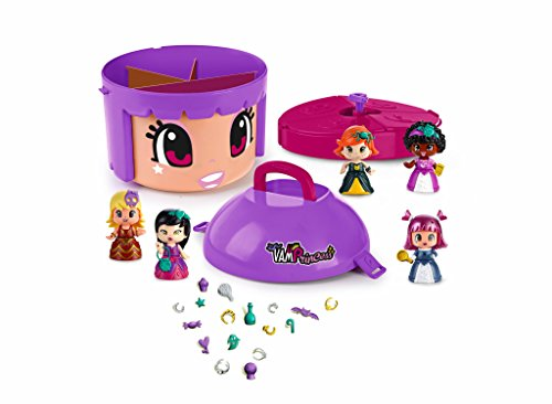 Pinypon Edition Limitée, 5 Figurines Princesse-Vampire (Famosa 700014263), Multicouleur