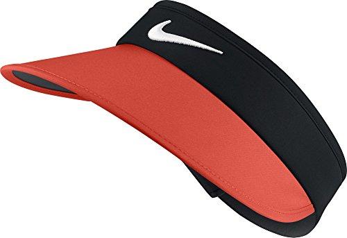 Nike W NK Visor Big Bill Schirmmütze für Golf für Damen, Schwarz (Black/Max Gold/Anthracite / White), ┌nica