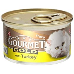 Or Gourmet Sélection Pate Chat Senior Nourriture Humide 12 X 85G (1,02 Kg)