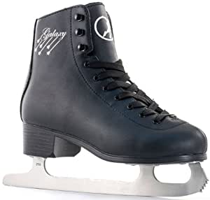 SFR Galaxy Ice Skates - Black - UK 1