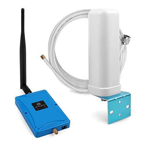 ANNTLENT GSM Repeater 900/2100MHz Handy Signalverstärker Dualband Verstärker verbessern 2G und 3G Signal Booster Dual-band Tv Handy