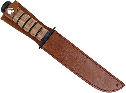 USMC Combat Messer inkl. Lederscheide (Combat Messer)