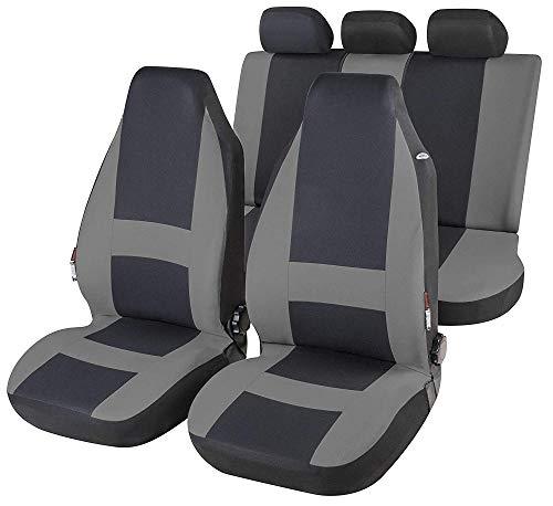 rmg-distribuzione Coprisedili Fodere R32 Nero Grigio per UP Copri sedili Auto Anteriori e Posteriori