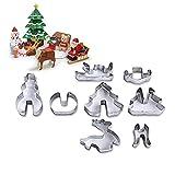 Minions Boutique 3D Weihnachten Kuchen Ausstecher Edelstahl Form Kueche Backen Gebaeck Werkzeuge Kuchen Dekorieren Tools