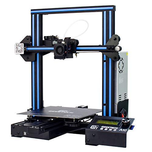 Impresora 3D GEEETECH A10 Prusa I3 Kit bricolaje montaje