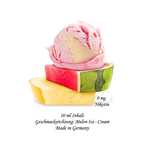 Melon Icecream Liquid für E-Zigarette/Shisha 10ml / 0mg Nikotin