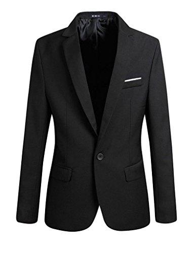 Bestgift Homme Vogue Une Bouton Vestes de costume Bestgift