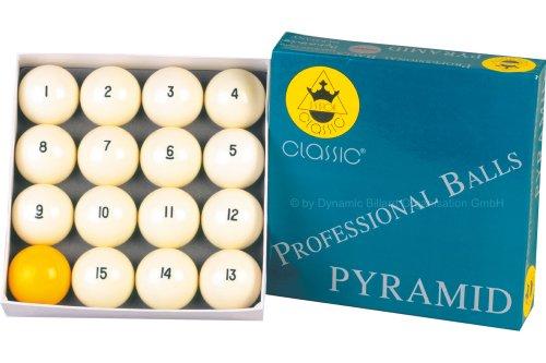 """Billard Kugeln """"Classic A-Quality"""",68mm, Pyramid"""