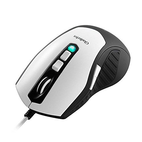 Aerocool Templarius Gladiator Laser Gaming Mouse - Sensore Di Livello Laser