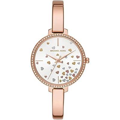 Michael Kors Reloj Analógico para Mujer de Cuarzo con Correa en Acero Inoxidable MK3978
