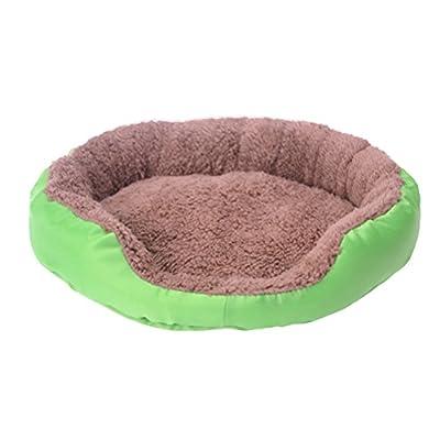 UEETEK Camas para Perros Cojín Casa de Dormir para Mascotas - Tamaño M (verde)