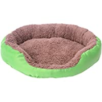 NICERIO Cama para Perro Cama Cojín Suave Cozy Pet House Mat Pet Supplies Talla L (Verde)