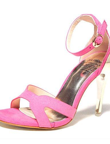 WSS 2016 Chaussures Femme-Décontracté-Noir / Vert / Multi-couleur-Talon Aiguille-Talons-Talons-Laine synthétique green-us8 / eu39 / uk6 / cn39