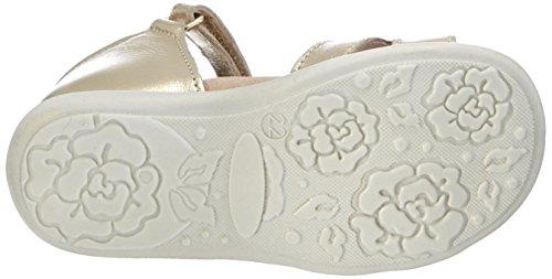 Andrea Morelli  SANDAL, Chaussures premiers pas pour bébé (fille) Or - Gold (PLATINO)