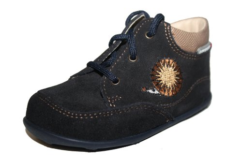 Juge 42.1111.1761 bottines chaussons pour bébé Bleu - Blau /atlantic/natur 1761)