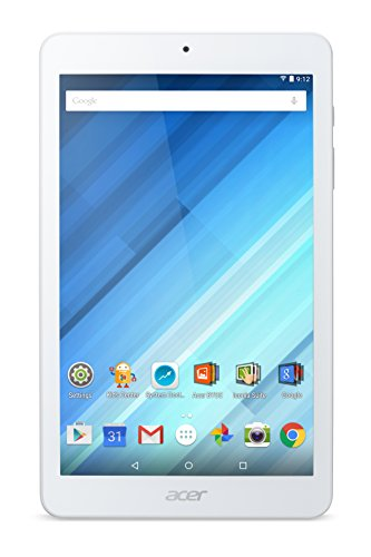 Acer Iconia One 8 - Tablet de 8'' (WiFi, memoria interna de 16GB), color blanco