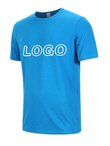 BOMOVO Premium T-Shirt Herren Blau