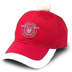 GGdjst Bonnet Noel,Chapeau de Noel, Colonial Battlestar Group Galactica Space Christmas Hats Red Santa Baseball Cap for Kids Adult Families Celebrate New Year Party